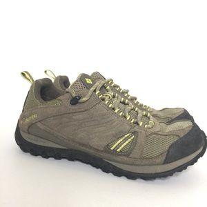 Columbia | Redmond Hiking Shoe Grey/Green Size 6.5